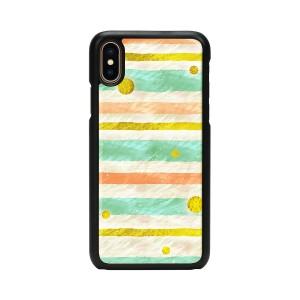 iPhone XS / X ケース 天然貝 ikins Pop Mint(アイキンス ポップミント)