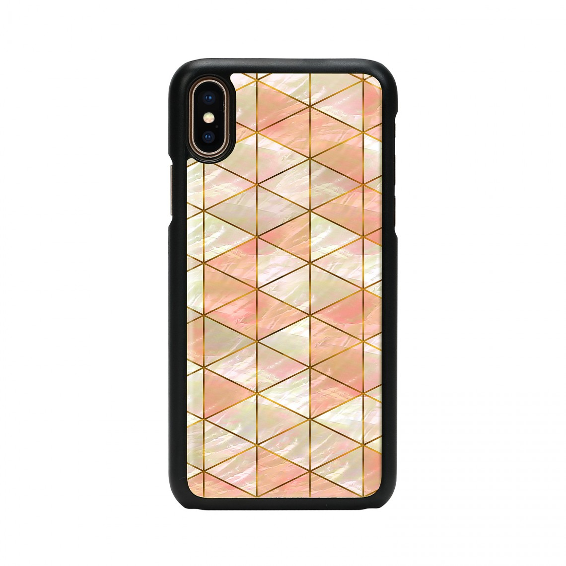 iPhone XR ケース 天然貝 ikins Diamond(アイキンス ダイヤモンド)