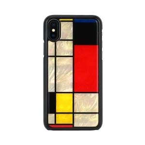 iPhone XR ケース 天然貝 ikins Mondrian(アイキンス モンドリアン)