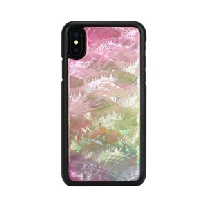 iPhone XR ケース 天然貝 ikins Water flower(アイキンス ウォーターフラワー)