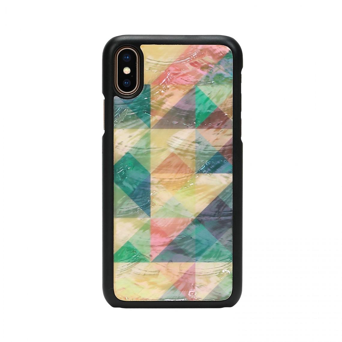 iPhone XR ケース 天然貝 ikins Mosaic(アイキンス モザイク)