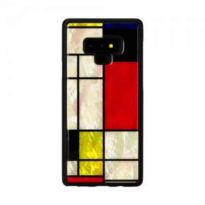 Galaxy Note9 ケース 天然貝 ケース ikins Mondrian(アイキンス モンドリアン)