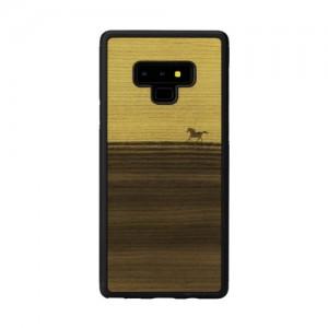 Galaxy Note9 ケース 天然木 ケース Man&Wood Mustang(マンアンドウッド ムスタング)