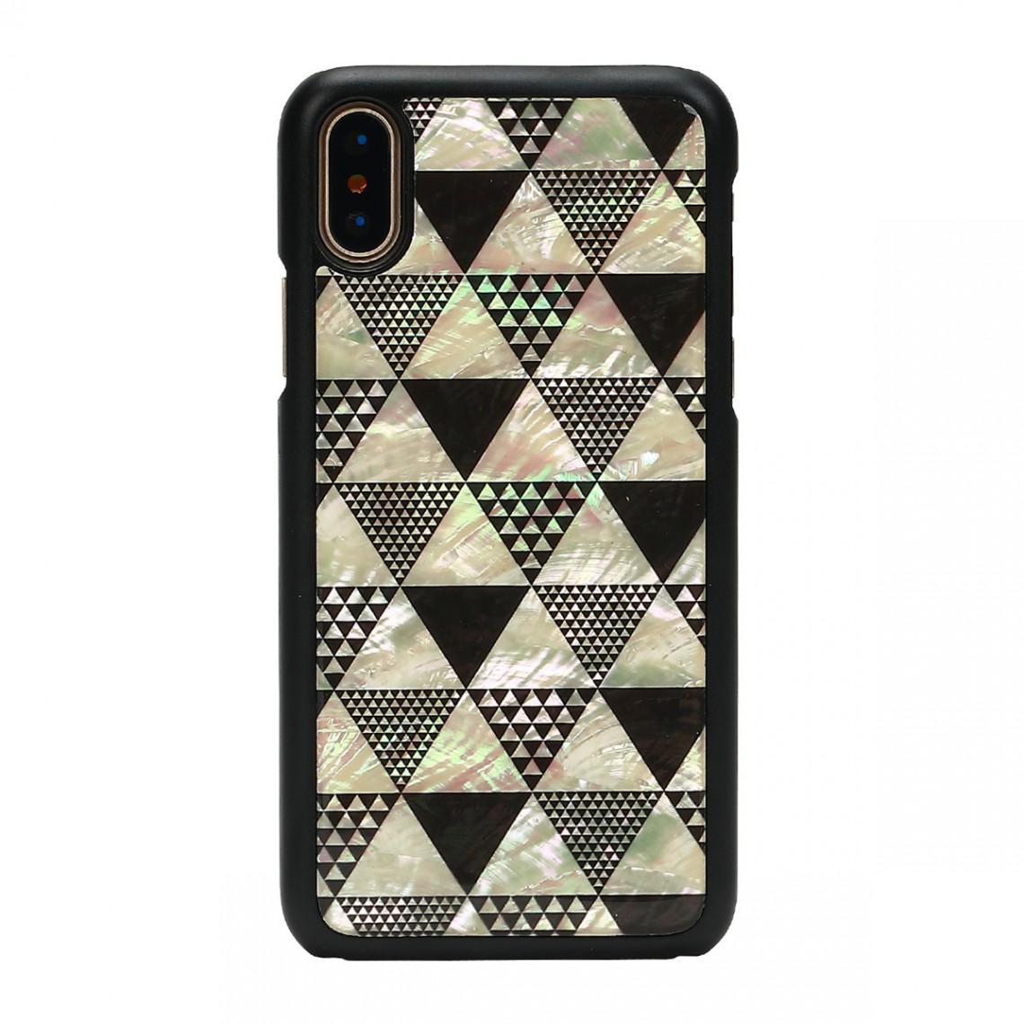 iPhone XS Max 天然貝 ケース ikins Pyramid