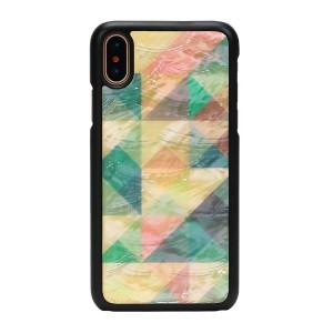 iPhone XS Max 天然貝 ケース ikins Mosaic