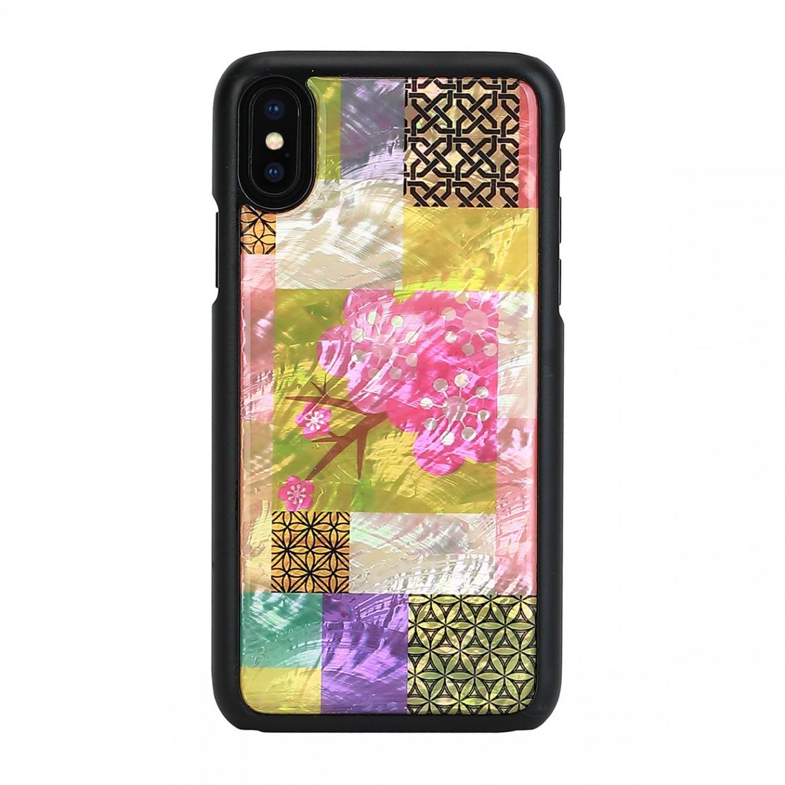 iPhone XS Max 天然貝 ケース ikins Cherry Blossom