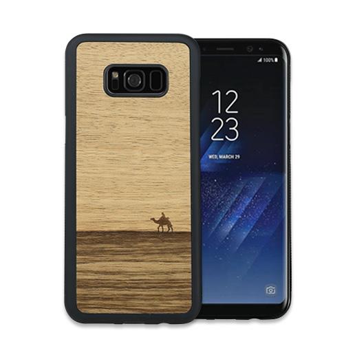 Galaxy S10 S10+ S9 S9+ S8 天然木ケース Man&Wood Terra (マンアンドウッド テラ) カバー木製