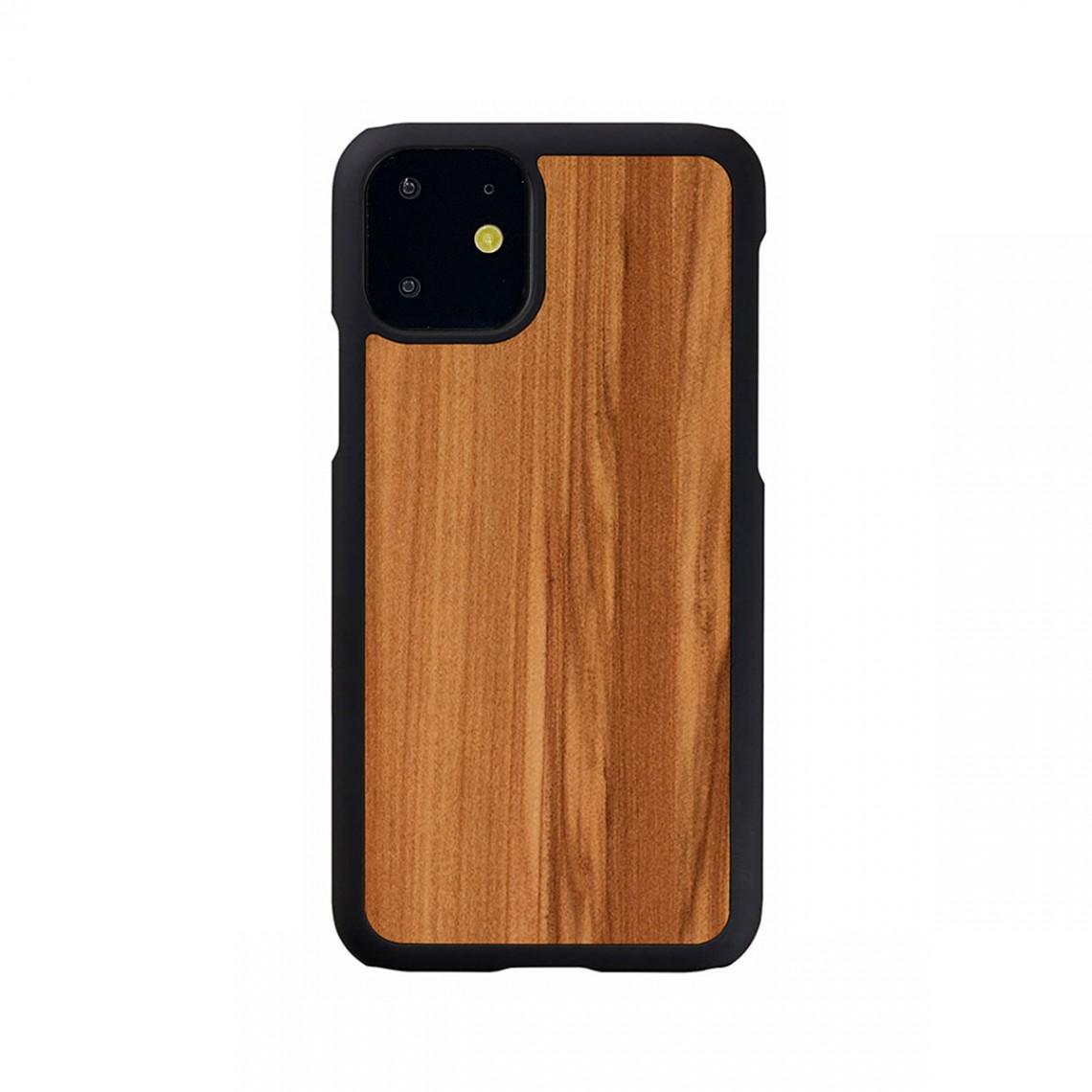 Man&Wood iPhone 11 天然木ケース Cappuccino