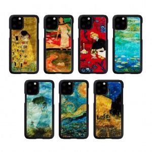 ikins iPhone 11 Pro 天然貝ケース名画
