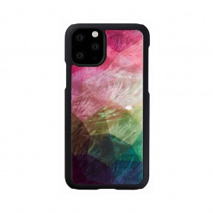 ikins iPhone 11 Pro 天然貝ケース Water flower