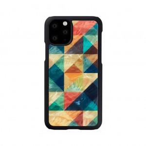 ikins iPhone 11 Pro Max 天然貝ケース Mosaic