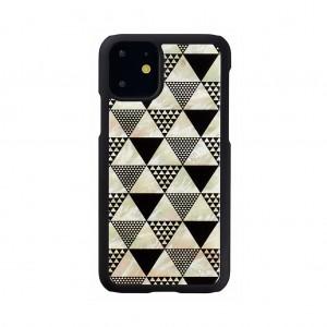 ikins iPhone 11 天然貝ケース Pyramid