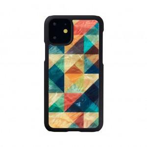 ikins iPhone 11 天然貝ケース Mosaic
