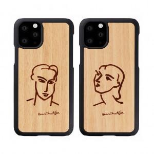 Man&Wood iPhone 11 Pro 天然木ケース カティア/ナディア