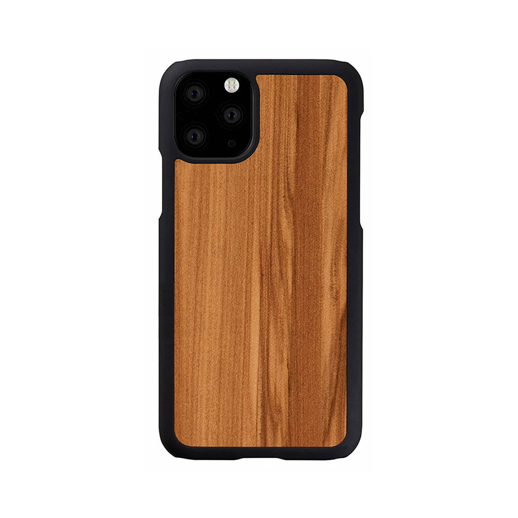 Man&Wood iPhone 11 Pro 天然木ケース Cappuccino