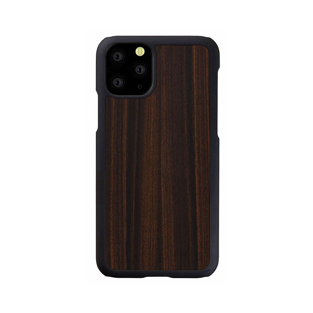 Man&Wood iPhone 11 Pro 天然木ケース Ebony