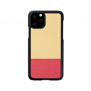 Man&Wood iPhone 11 Pro 天然木ケース Miss match