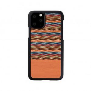 Man&Wood iPhone 11 Pro Max 天然木ケース Browny Check