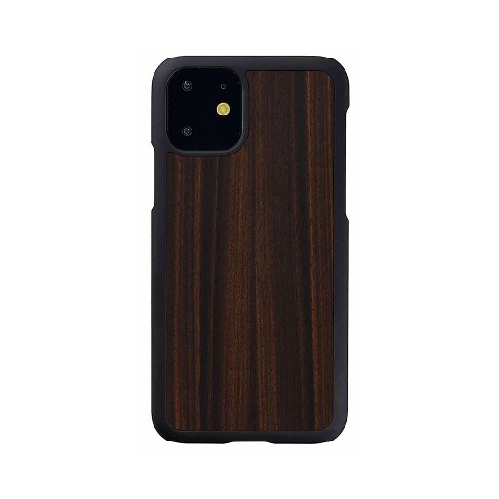 Man&Wood iPhone 11 天然木ケース Ebony