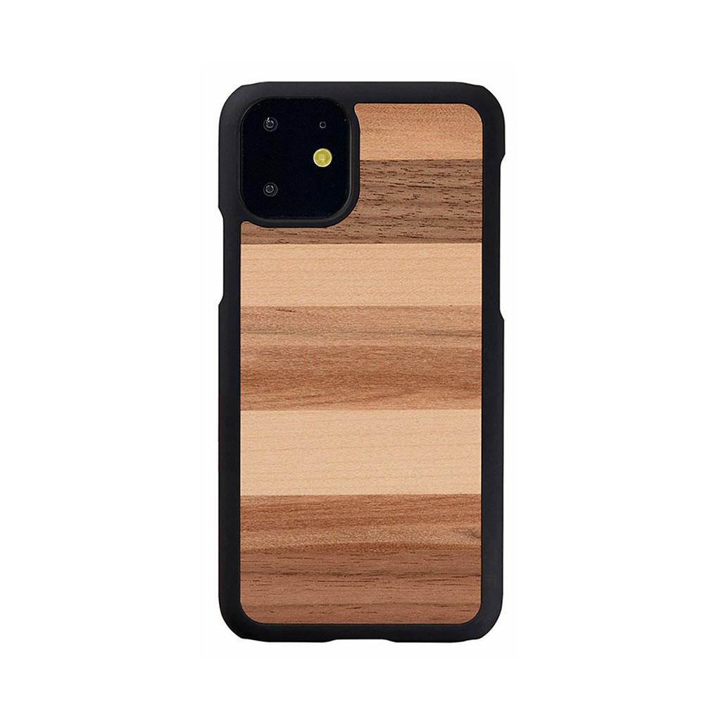 Man&Wood iPhone 11 天然木ケース Sabbia