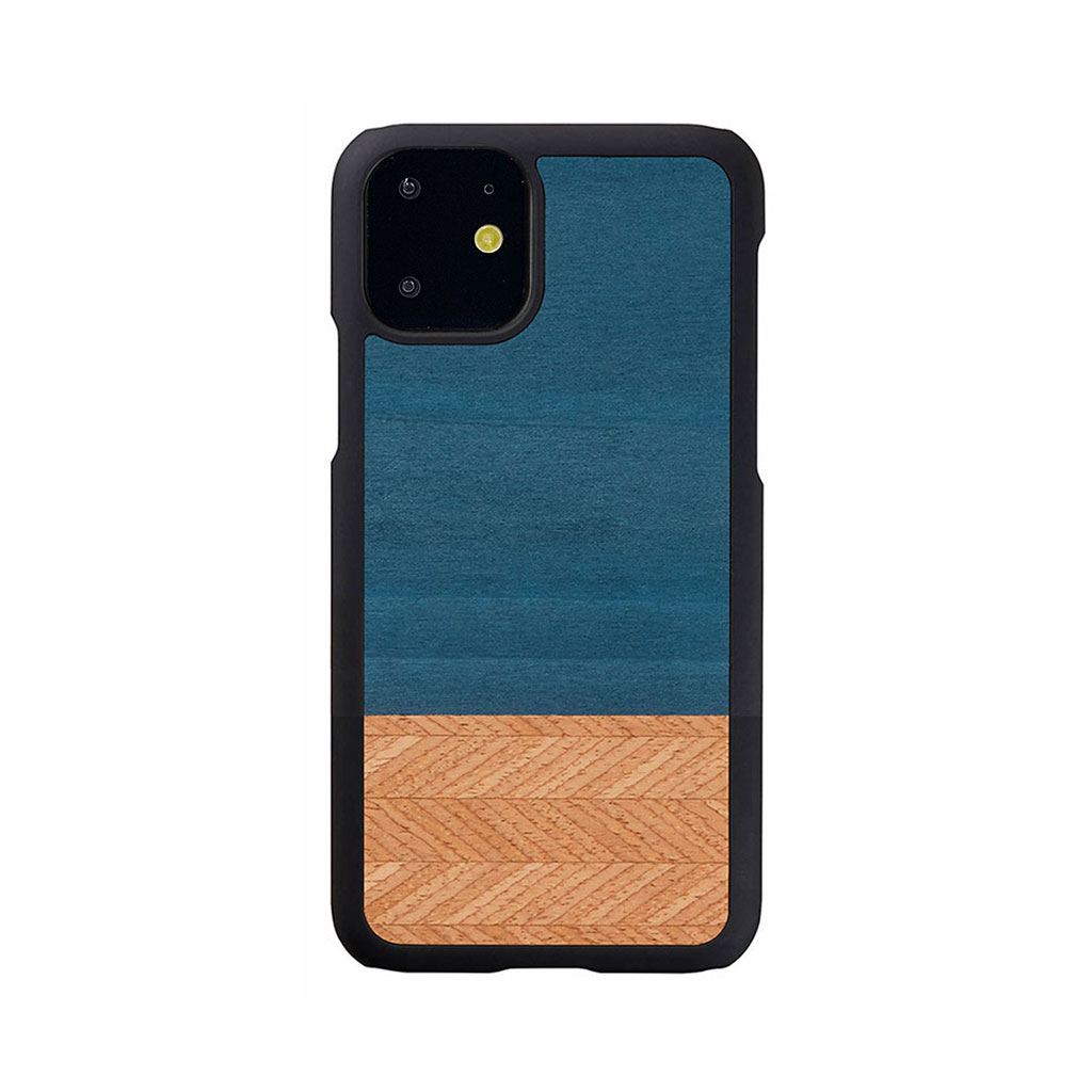 Man&Wood iPhone 11 天然木ケース Denim