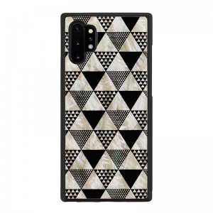ikins Galaxy Note 10+ 天然貝ケース Pyramid