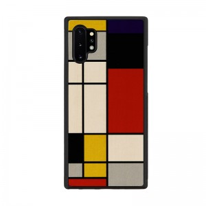 Man&Wood Galaxy Note 10+ 天然木ケース Mondrian Wood