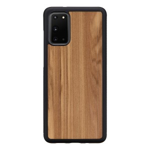Man&Wood Galaxy S20/S20+/S8/S8+ 天然木ケース Cappuccino