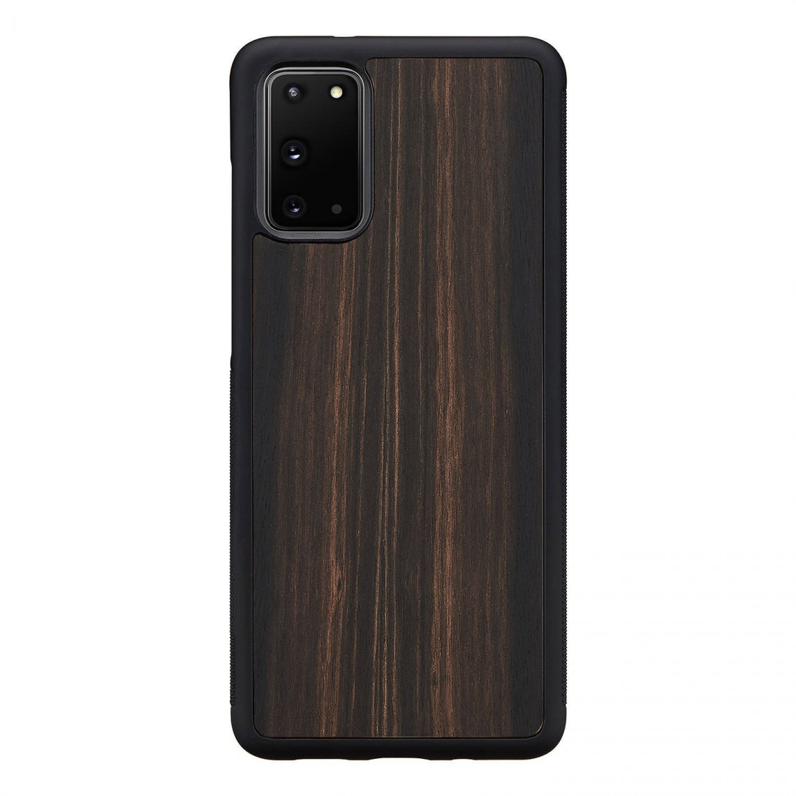 Man&Wood Galaxy S20/S20+/S10/S10+ 天然木ケース Ebony