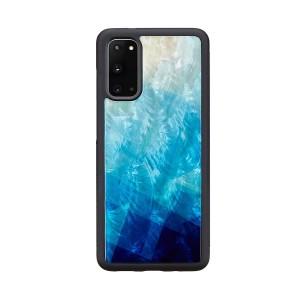 ikins Galaxy S20/S20+/S10/S10+ 天然貝ケース Lake
