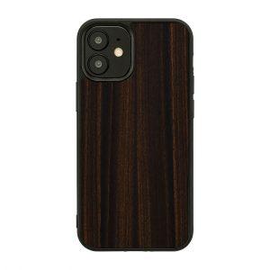 2020 新型 iPhone 12 Pro / 12 iPhone ケース [iPhone iPhone11 ケース] 天然木 ケース Man&Wood Ebony アイフォン カバー スマホケース