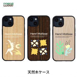 【iPhone 13】Man&Wood HENRI MATISSE【天然木ケース】新型 iPhone 13 ケース